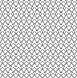 Repeat zig zag geometric black and white abstract vector pattern Royalty Free Stock Photography