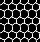 Repeatable безшовная картина с опрокинутыми, перекрытыми шестиугольниками g Стоковая Фотография RF