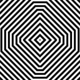 Repeatable геометрическая картина Абстрактное monochrome угловое backgr Стоковые Фото
