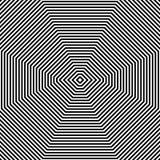 Repeatable геометрическая картина Абстрактное monochrome угловое backgr Стоковая Фотография RF