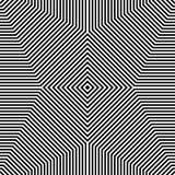 Repeatable геометрическая картина Абстрактное monochrome угловое backgr Стоковое Фото