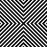 Repeatable геометрическая текстура Безшовное минималистское monochrome Пэт иллюстрация штока
