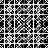 Repeatable детальная решетка, картина сетки Черно-белая версия иллюстрация штока