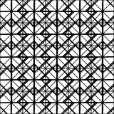 Repeatable детальная решетка, картина сетки Черно-белая версия бесплатная иллюстрация