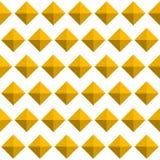 Repeatable картина с стержнями, самоцвет 3d любит формы Простое monoch иллюстрация вектора