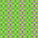 Repeatable круги, картина точек Красочная/multicolor текстура иллюстрация вектора