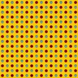 Repeatable круги, картина точек Красочная/multicolor текстура иллюстрация штока