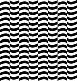 Repeatable передернутая картина с прямоугольниками, черно-белое te Стоковые Фото