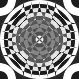 Repeatable поделенная на сегменты картина серой шкалы Monochrome абстрактный текст иллюстрация штока