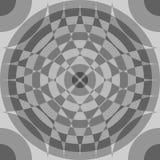 Repeatable поделенная на сегменты картина серой шкалы Monochrome абстрактный текст бесплатная иллюстрация