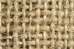 Repeatable burlap pattern Royalty Free Stock Photography
