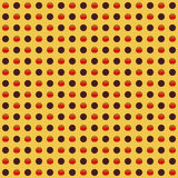 Repeatable circles, dots pattern. Colorful / multicolor texture royalty free illustration