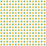 Repeatable circles, dots pattern. Colorful / multicolor texture. With circles. Duotone & x28;tricolor& x29; polkadots - Royalty free vector illustration vector illustration