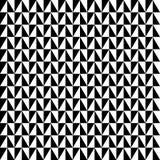 Repeatable contrasty геометрическая картина Мозаика треугольников с иллюстрация штока