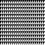 Repeatable contrasty геометрическая картина Мозаика треугольников с Стоковое Фото