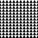 Repeatable contrasty геометрическая картина Мозаика треугольников с Стоковое фото RF
