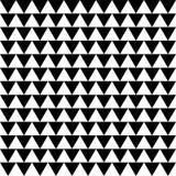 Repeatable contrasty геометрическая картина Мозаика треугольников с Стоковая Фотография RF