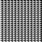 Repeatable contrasty геометрическая картина Мозаика треугольников с Стоковая Фотография