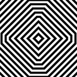 Repeatable geometric pattern. Abstract monochrome angular backgr Royalty Free Stock Image