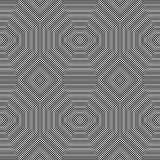 Repeatable geometric pattern. Abstract monochrome angular backgr Royalty Free Stock Photography
