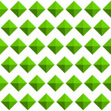 Repeatable pattern with studs, 3d gem like shapes. Simple monoch Stock Images