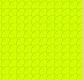 Repeatable pattern w/ interlocking circles, rings. Regular monochrome seamless geometric pattern. Royalty free vector illustration royalty free illustration