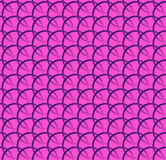 Repeatable pattern w/ interlocking circles, rings. Regular monochrome seamless geometric pattern. Royalty free vector illustration vector illustration
