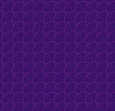Repeatable pattern w/ interlocking circles, rings. Regular monoc Stock Photos