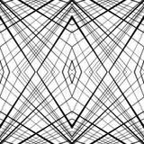 Repeatable, tileable предпосылка с случайным, линии сложной формы Se Стоковая Фотография