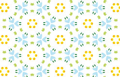 Repeated Background. Repeated pattern - spring time background - additional ai and eps format available on request Royalty Free Stock Photography