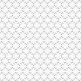 Repeated black angle brackets on white background. Seamless pattern design. Chevrons abstract artwork. Curves ornament. royalty free illustration