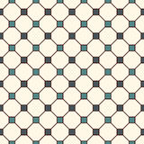 Repeated blue squares abstract background. Minimalist seamless pattern with geometric ornament. Checkered wallpaper. Royalty Free Stock Photo