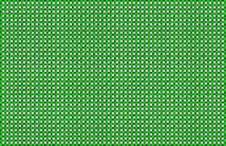 Green White Woven Basketweave Abstract Background. Repeated braiding of horizontal and vertical stripes creates a basket weave pattern with a white background & Vector Illustration
