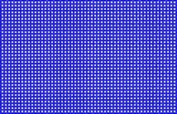Blue and White Woven Basketweave Background. Repeated braiding of horizontal and vertical stripes creates a 3-D basket weave pattern with a white background & Royalty Free Stock Photography