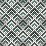 Repeated chevrons abstract wallpaper. Asian traditional ornament with scallops. Seamless surface pattern with scales. Repeated chevrons abstract wallpaper Vector Illustration