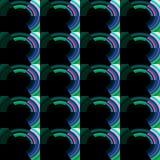 Repeated dark pattern Royalty Free Stock Photo