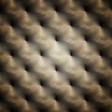 Repeated design of smithed metal plate Royalty Free Stock Photos