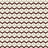 Repeated diamonds background. Geometric seamless pattern with polygons tessellation. Rhombuses and lozenges motif. Stock Image