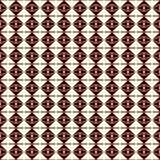 Repeated diamonds and lines background. Ethnic wallpaper. Seamless surface pattern design with rhombuses ornament. Stock Image