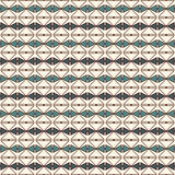 Repeated diamonds and lines background. Ethnic wallpaper. Seamless surface pattern design with rhombuses ornament. Stock Photography