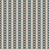 Repeated diamonds and lines background. Ethnic wallpaper. Seamless surface pattern design with rhombuses ornament. Royalty Free Stock Photos