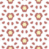 Repeated Flower Background Stock Photos