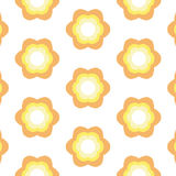 Repeated Flower Background Royalty Free Stock Photo