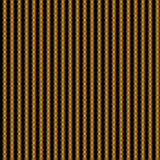 Repeated gold pattern. Repeated pattern in golden colors on black background. Hypnotic background Royalty Free Stock Photography