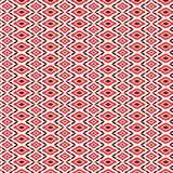 Repeated pattern, background. Repeated colorful textile pattern and background with geometric shapes in pink and brown hues Royalty Free Stock Images