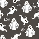 Repeated pattern for Halloween. Royalty Free Stock Image