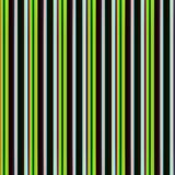 Repeated textile pattern with green lines. Repeated textile pattern with vertical lines in green, white, brown and red hues. Abstract image and design Stock Image