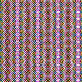 Repeated traditional textile pattern Stock Photo