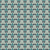 Repeated triangles background. Simple abstract wallpaper with geometric figures. Seamless surface pattern. Repeated triangles on white background. Simple Royalty Free Stock Image