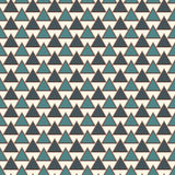 Repeated triangles background. Simple abstract wallpaper with geometric figures. Seamless surface pattern Stock Image